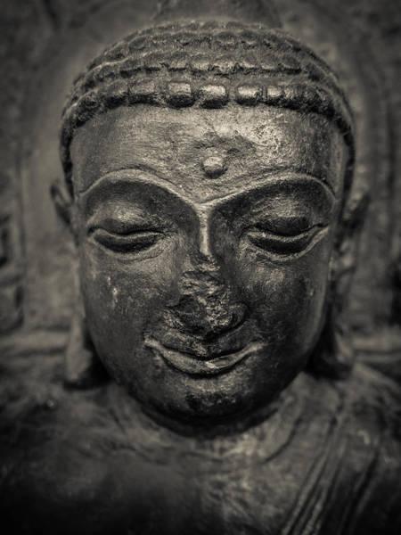 Wall Art - Photograph - Ancient Buddha Statue by Mr Doomits