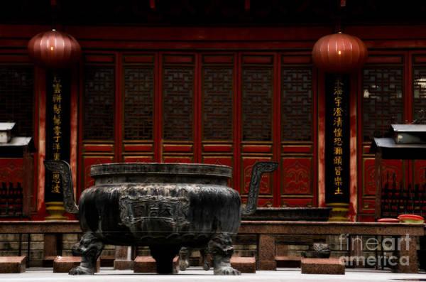 Wall Art - Photograph - Ancient Cauldron by Venetta Archer
