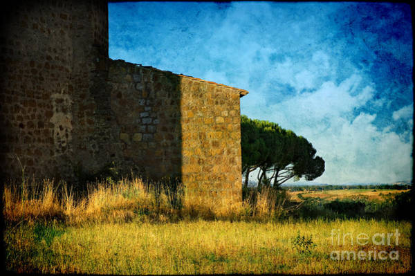 Photograph - Ancient Church - Italy by Silvia Ganora