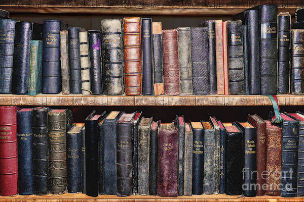 Photograph - Ancient Clerical Books by Jutta Maria Pusl