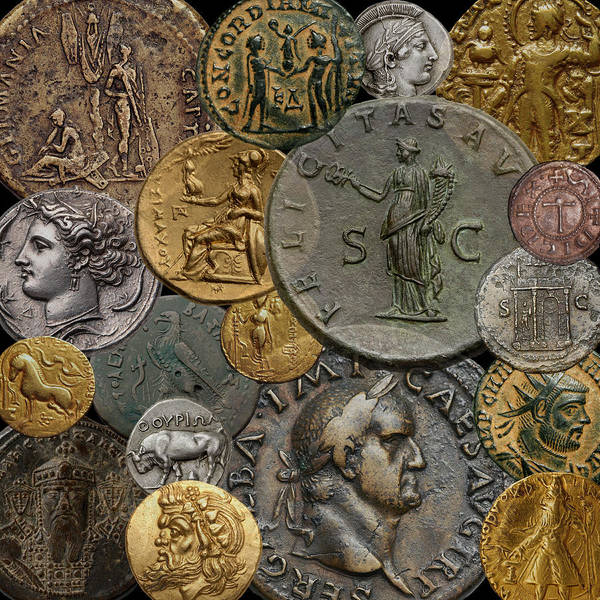 Photograph - Ancient Coins 3 by Andrew Fare