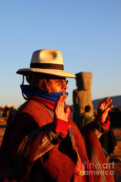 Aymara Wall Art - Photograph - Ancient Cultures And Traditions by James Brunker