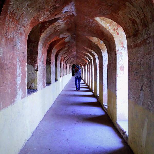 Photograph - Ancient Gallery At Bada Imambara by Atullya N Srivastava