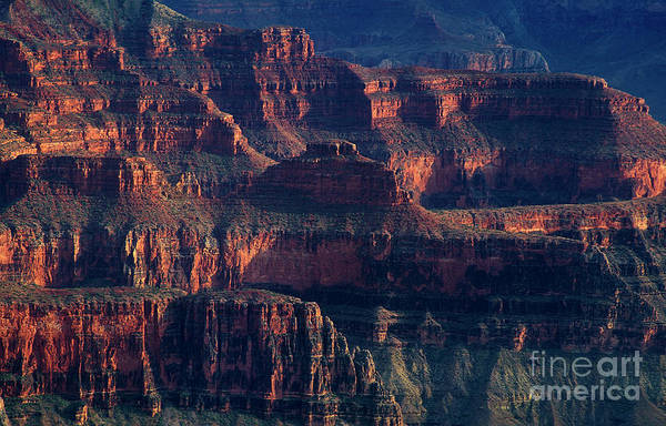 Photograph - Ancient Geological Formations North Rim Grand Canyon Np Arizona by Dave Welling