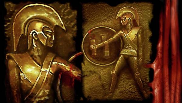 Relief - Ancient Heroes Or . . .  by Hartmut Jager