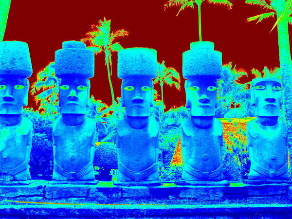 Photograph - Ancient Idols by Karen J Shine