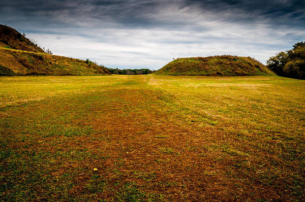 Photograph - Ancient Indian Burial Ground  by James L Bartlett