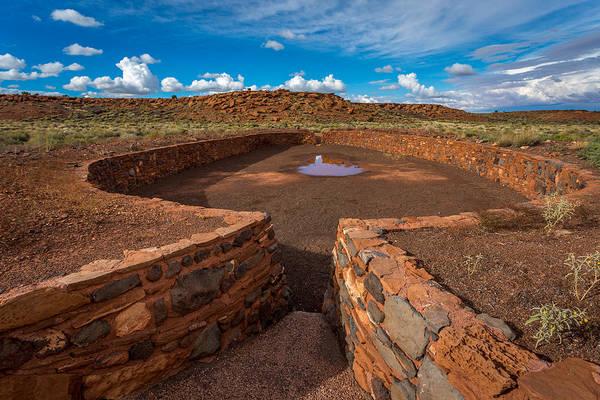 Hogan Photograph - Ancient Indian Riuns #2 by Jon Manjeot