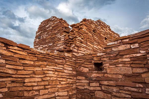 Hogan Photograph - Ancient Indian Riuns #3 by Jon Manjeot