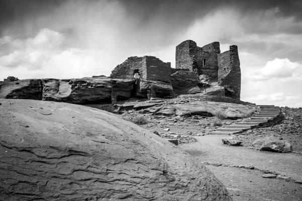 Hogan Photograph - Ancient Indian Riuns by Jon Manjeot
