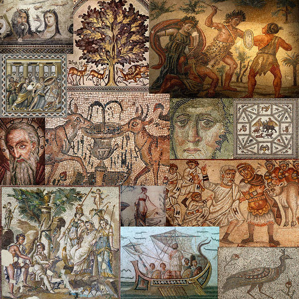 Photograph - Ancient Mosaics 2 by Andrew Fare