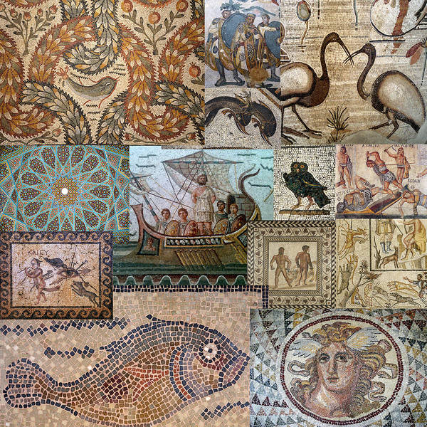 Photograph - Ancient Mosaics 3 by Andrew Fare
