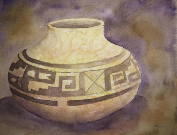 Painting - Ancient Pottery by Terry Ann Morris