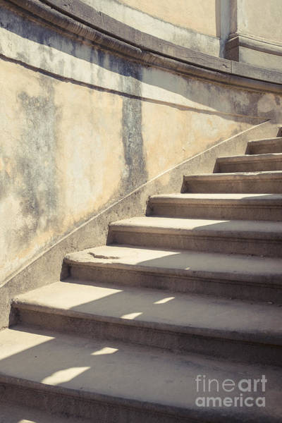 Stairs Photograph - Ancient Stairs by Edward Fielding