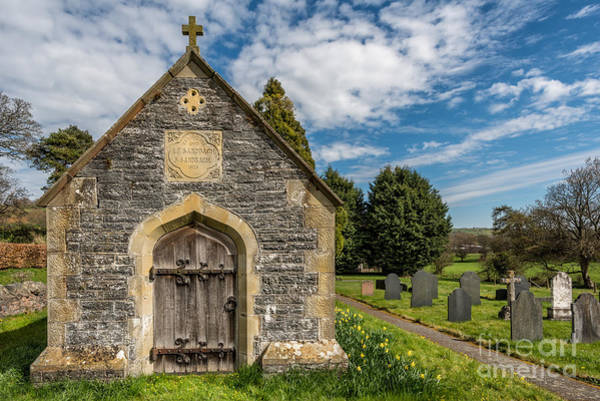 Welsh Church Wall Art - Photograph - Ancient Tomb by Adrian Evans