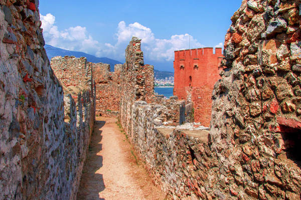 Photograph - Ancient Wall In Alanya by Sun Travels