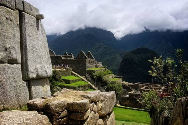 Photograph - Ancient World Of The Incas by Lucinda Walter