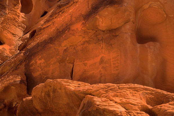 Photograph - Ancient Petroglyphs Valley Of Fire by Frank Wilson