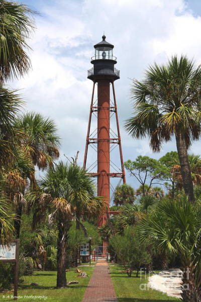 Anclote Key Lighthouse Art Print