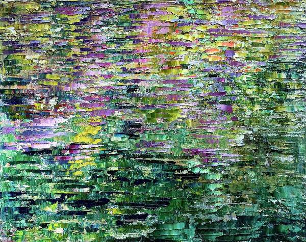 Wall Art - Painting - And By The Brook by Julia S Powell