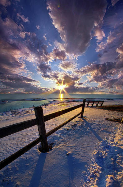 Photograph - And I Will Give You Rest. by Phil Koch
