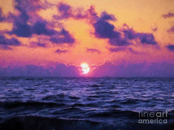Jekyll Island Painting - And On The Second Day by James Shinn