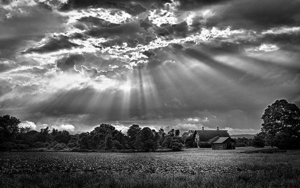 Photograph - And The Heavens Opened 2 by Mark Fuller