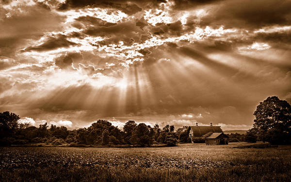 Photograph - And The Heavens Opened 3 by Mark Fuller
