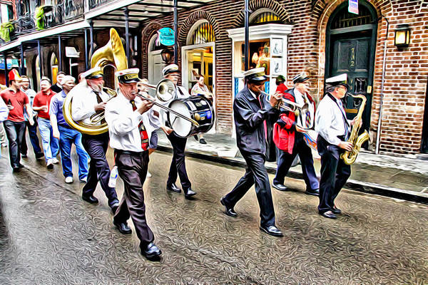 Photograph - And There Was Music In The Streets by Alice Gipson