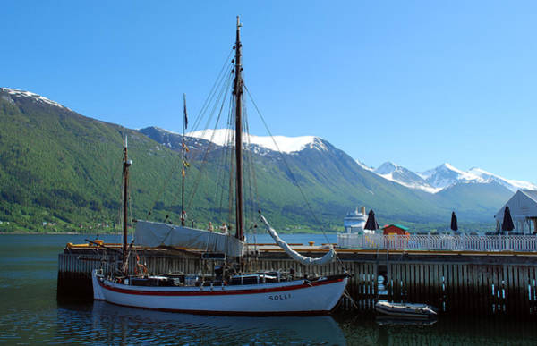 Wall Art - Photograph - Andalsnes Norway by Terence Davis