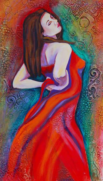 Seductive Painting - Andalucia 2 by Claudia Fuenzalida Johns