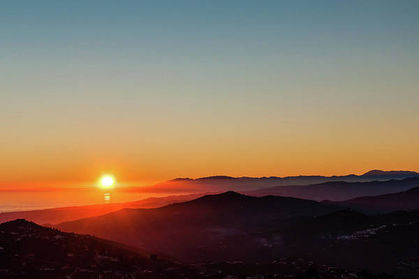Photograph - Andalucian Sunset by Geoff Smith