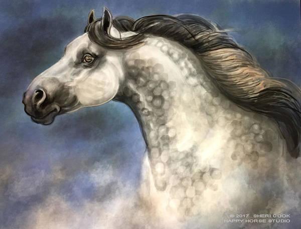Digital Art - Andalusian by Sheri Cook