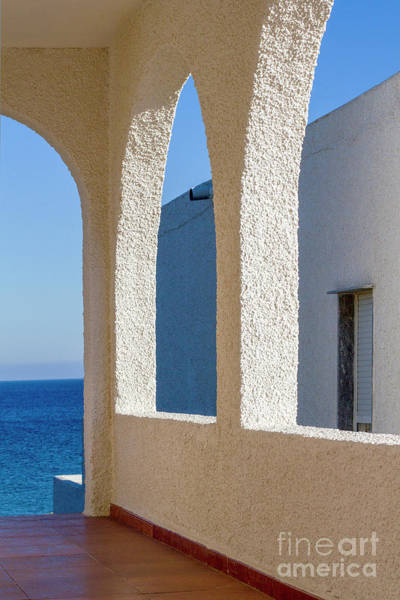Photograph - Andalusian Style Building by Heiko Koehrer-Wagner