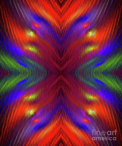 Digital Art - Andee Design Abstract 1 2015 by Andee Design