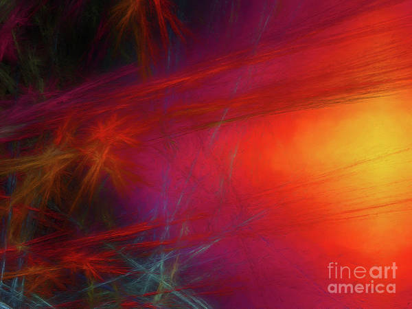 Wall Art - Digital Art - Andee Design Abstract 21 2018 by Andee Design