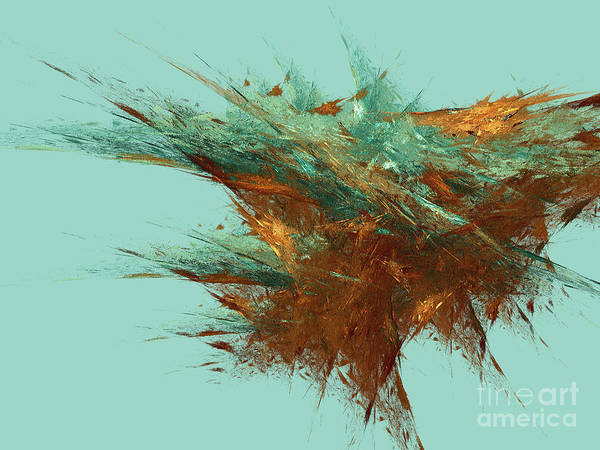 Wall Art - Digital Art - Andee Design Abstract 23 2018 by Andee Design