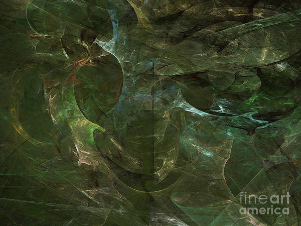 Digital Art - Andee Design Abstract 75 2017 by Andee Design