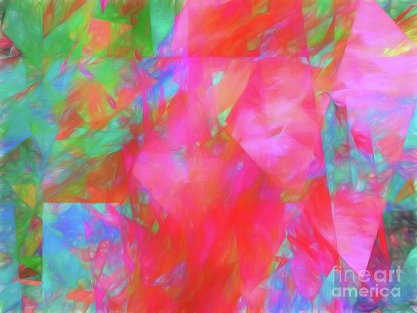 Wall Art - Digital Art - Andee Design Abstract 92 2017 by Andee Design