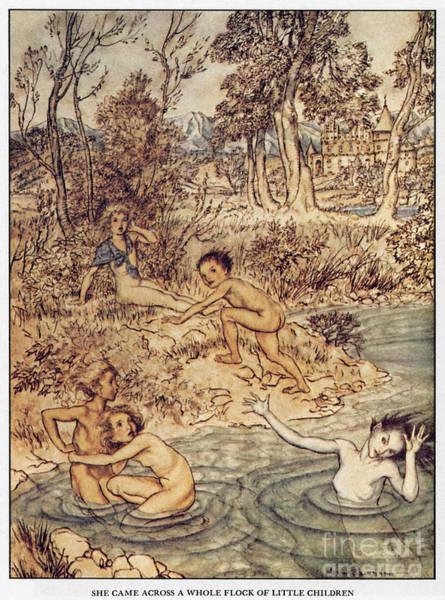 Painting - Andersen: Little Mermaid by Granger