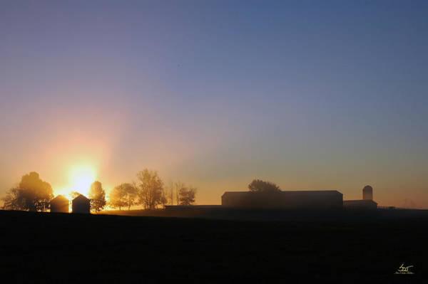 Photograph - Anderson Sunrise by Sam Davis Johnson