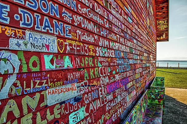 Photograph - Anderson Warehouse Graffiti  by Susan Rissi Tregoning