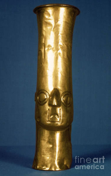 Photograph - Andes: Gold Effigy, 1400 by Granger