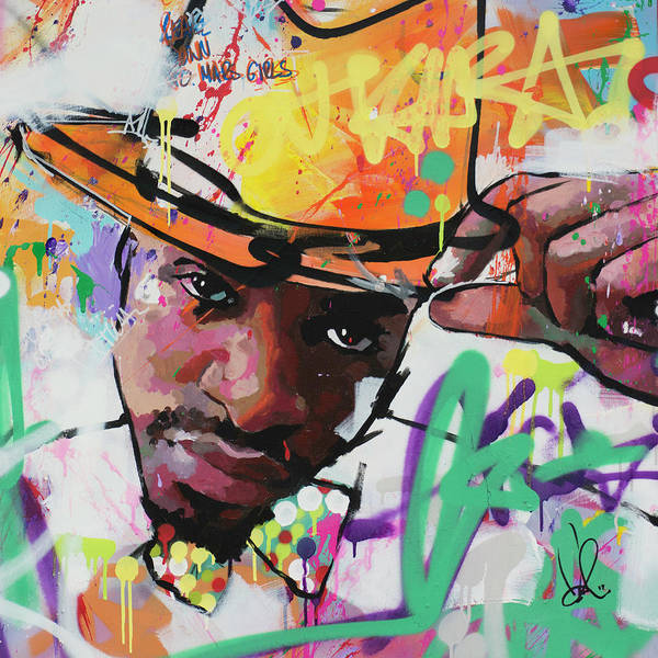 Wall Art - Painting - Andre 3000 by Richard Day