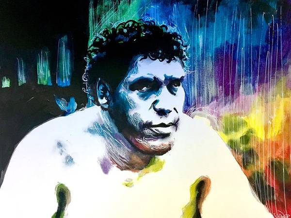 Painting - Andre The Giant by Joel Tesch