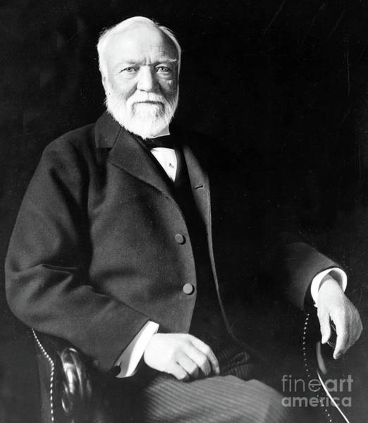 Wall Art - Photograph - Andrew Carnegie by American School