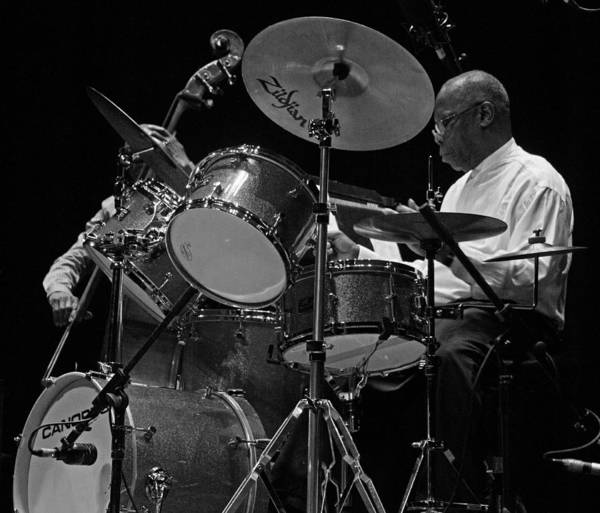Photograph - Andrew Cyrille 2 by Lee Santa