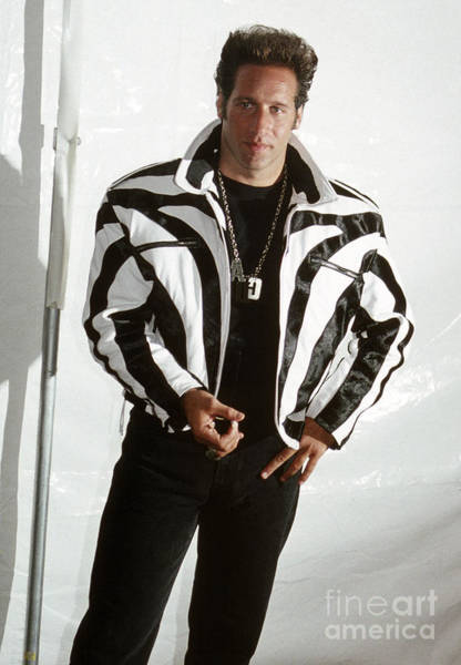 Chris Walter Wall Art - Photograph - Andrew Dice Clay 1989 by Chris Walter