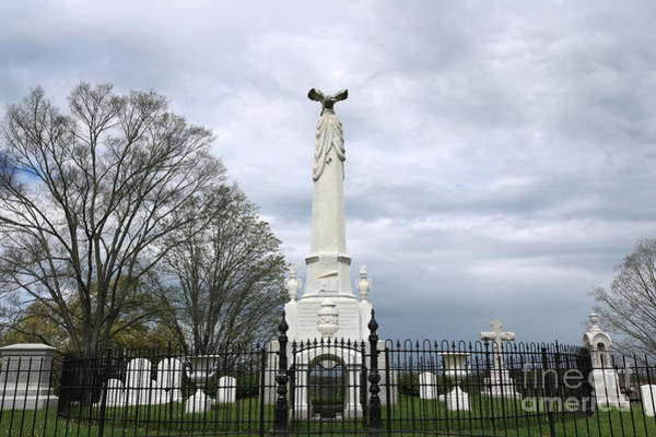 Photograph - Andrew Johnson National Cemetery Monument by Carol Groenen