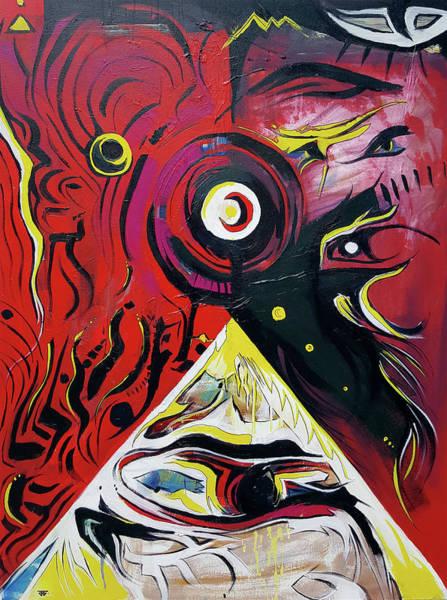 Painting - Andromeda Galaxy by John Jr Gholson